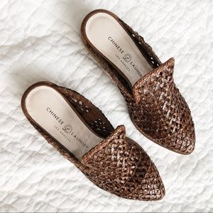 Shoes - Woven Slip Ons